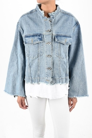Alythea Tee Bottom Jacket - Front cropped