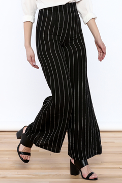 Alythea Striped Wide-Leg Trousers - Product List Image