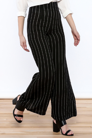Alythea Striped Wide-Leg Trousers - Product Mini Image