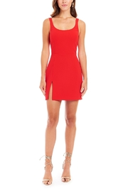 Amanda Uprichard Amabella Mini Dress - Product Mini Image