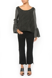 Amadi Adelina Pleated Sleeves Blouse - Front cropped