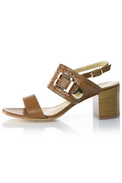 Shoptiques Product: Brown Leather Sandal