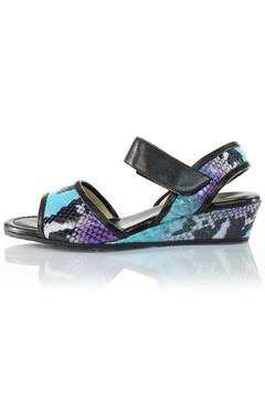 Shoptiques Product: Snake-Print Wedge Sandal