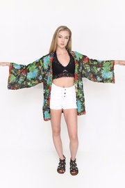 Fox In Gown Amalia Tropical Kimono - Product Mini Image