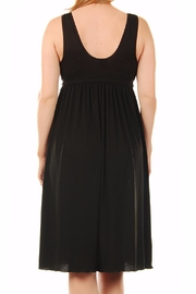 aMAMAnte! nursingwear Black Nursing Gown - Side cropped