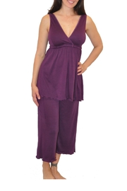 aMAMAnte! nursingwear Capri Nursing Pajamas - Product Mini Image