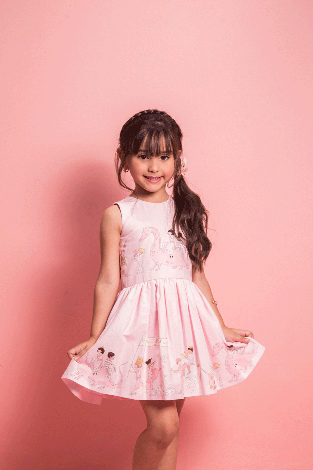 Mandy by Gema Amanda Dress Magical Parade - Front Cropped Image