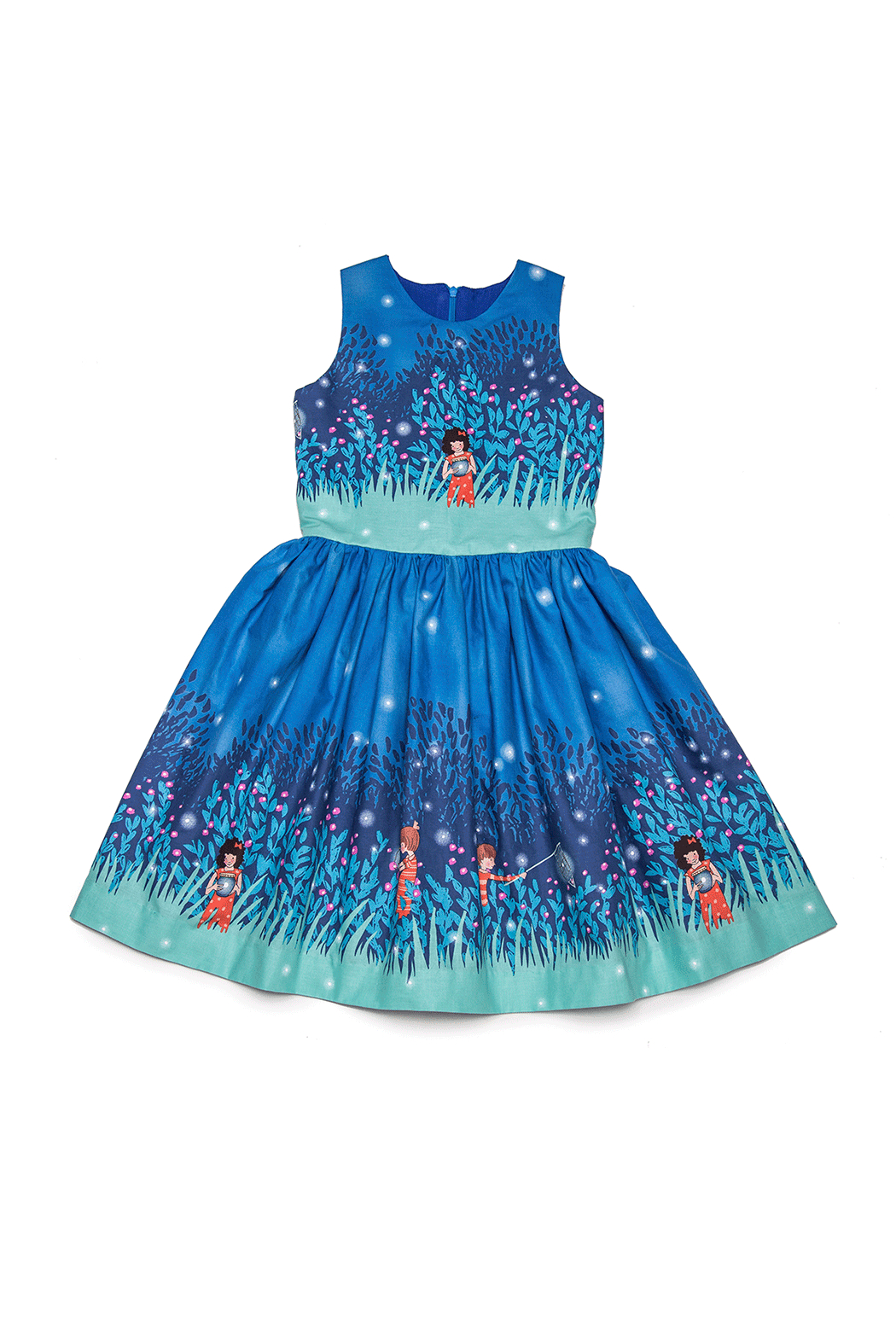 Mandy by Gema Amanda Dress Summer Night Light - Front Full Image