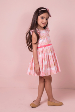 Shoptiques Product: Amanda Dress Unicorn Forest Blossom