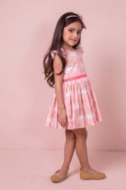 Mandy by Gema Amanda Dress Unicorn Forest Blossom - Front cropped