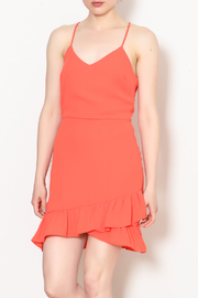 Everly Amanda Ruffle Dress - Product Mini Image