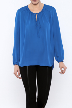 Shoptiques Product: Blue Silk Blouse