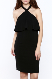 Amanda Uprichard Black Piazza Dress - Product Mini Image