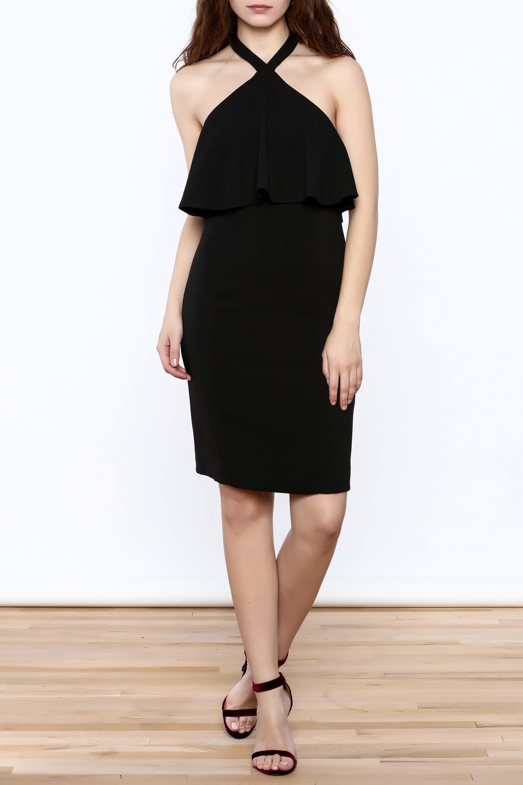 Amanda Uprichard Black Piazza Dress from New Hampshire by Let\'s Glow ...