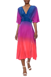 Amanda Uprichard High Split Ombre Dress - Product Mini Image