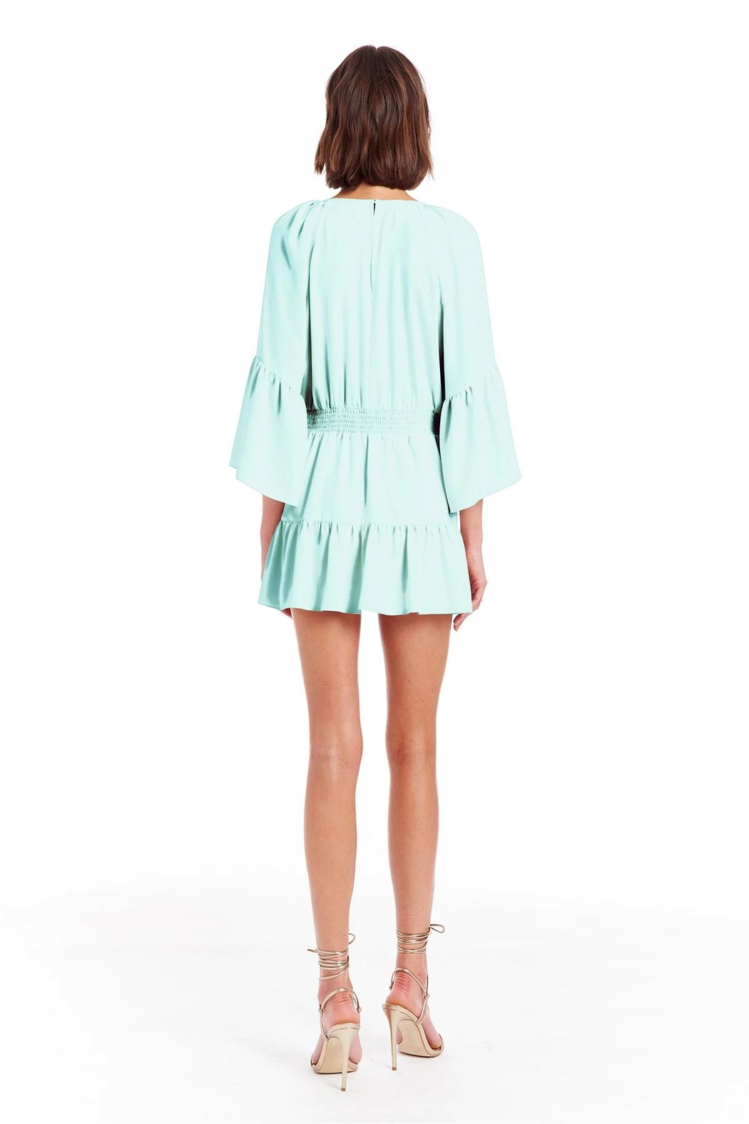 Amanda Uprichard Alena Romper - Side Cropped Image