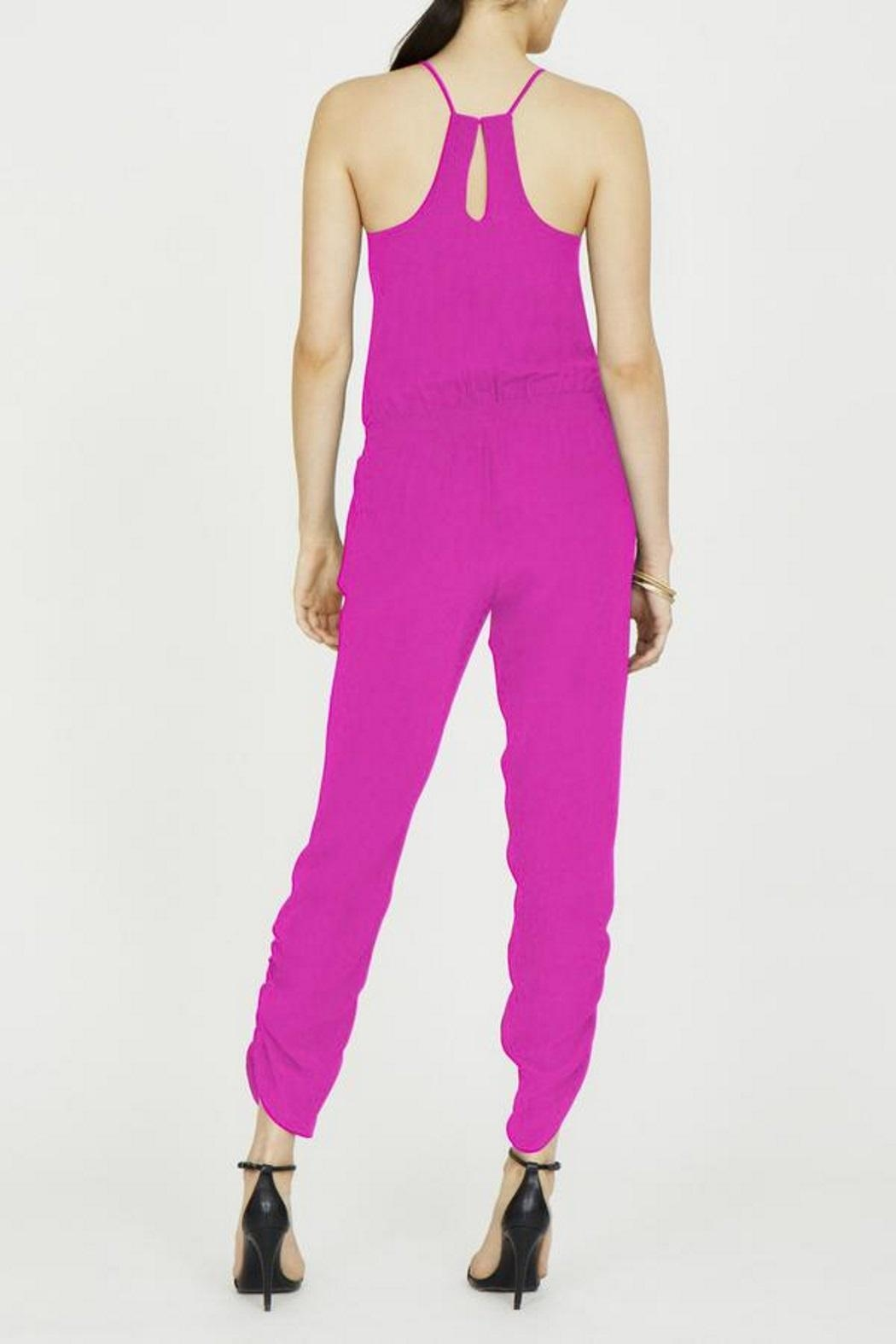 Amanda Uprichard Lowell Silk Jumpsuit - Side Cropped Image