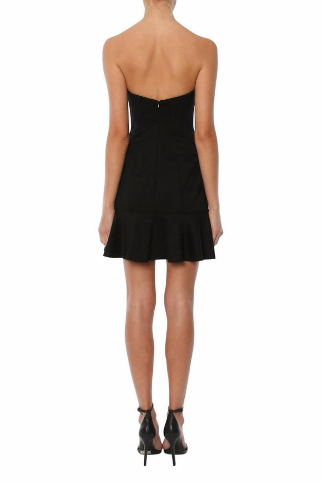 Amanda Uprichard Strapless Dress - Side Cropped Image