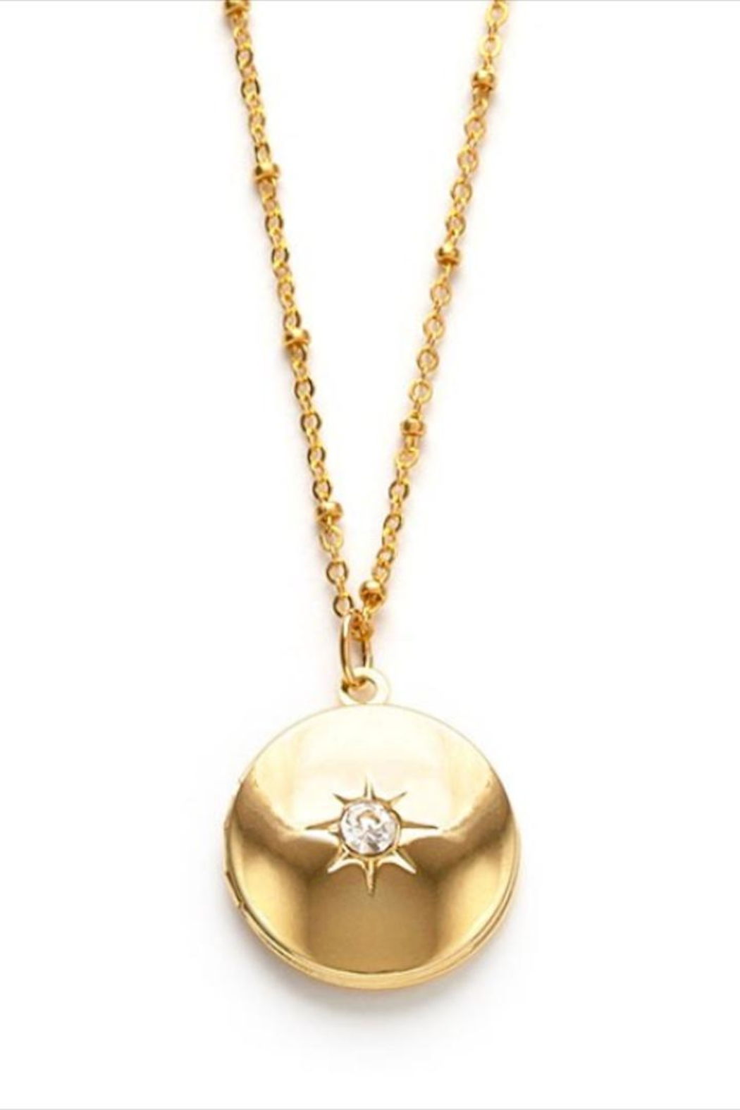 Amano Trading Diamond Burst Locket - Main Image