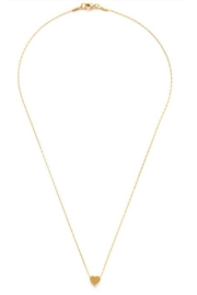 Amano Trading Gold Heart Necklace - Product Mini Image
