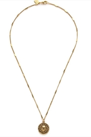 Amano Trading Gold Sun Necklace - Front cropped