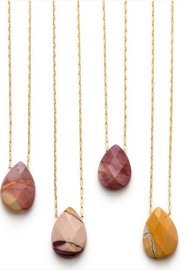 Amano Trading Mookaite Faceted Necklace - Front cropped