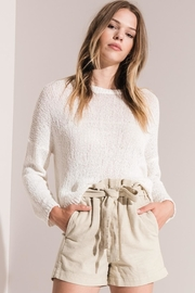rag poets Amargosa Cropped Sweater - Product Mini Image