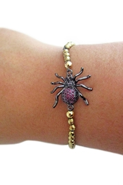Malia Jewelry Amatite Spider Bracelet - Front full body