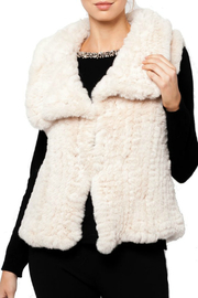 love token Amaya Faux Fur Vest - Product Mini Image