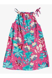 Roxy Amazing Trip Halter Beach Dress - Front cropped