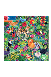 Eeboo Amazon Rainforest 1000 Piece Puzzle - Product Mini Image