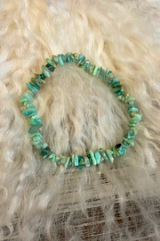 The Birch Tree Amazonite Chip Bracelet - Product Mini Image
