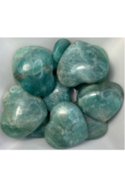 Quasar Gems Amazonite Heart - Product Mini Image