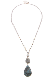 NAKAMOL CHICAGO Amazonite necklace (AZM) - Product Mini Image