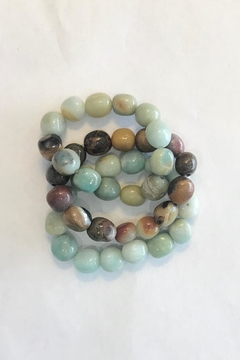Lily Chartier Pearls Amazonite Stretch Bracelets - Product List Image