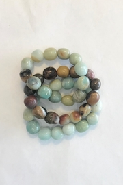 Lily Chartier Pearls Amazonite Stretch Bracelets - Product Mini Image