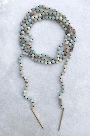 Wild Lilies Jewelry  Amazonite Wrap Necklace - Product Mini Image
