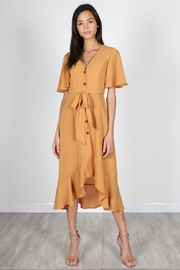 essue Amber Button-Down Dress - Product Mini Image