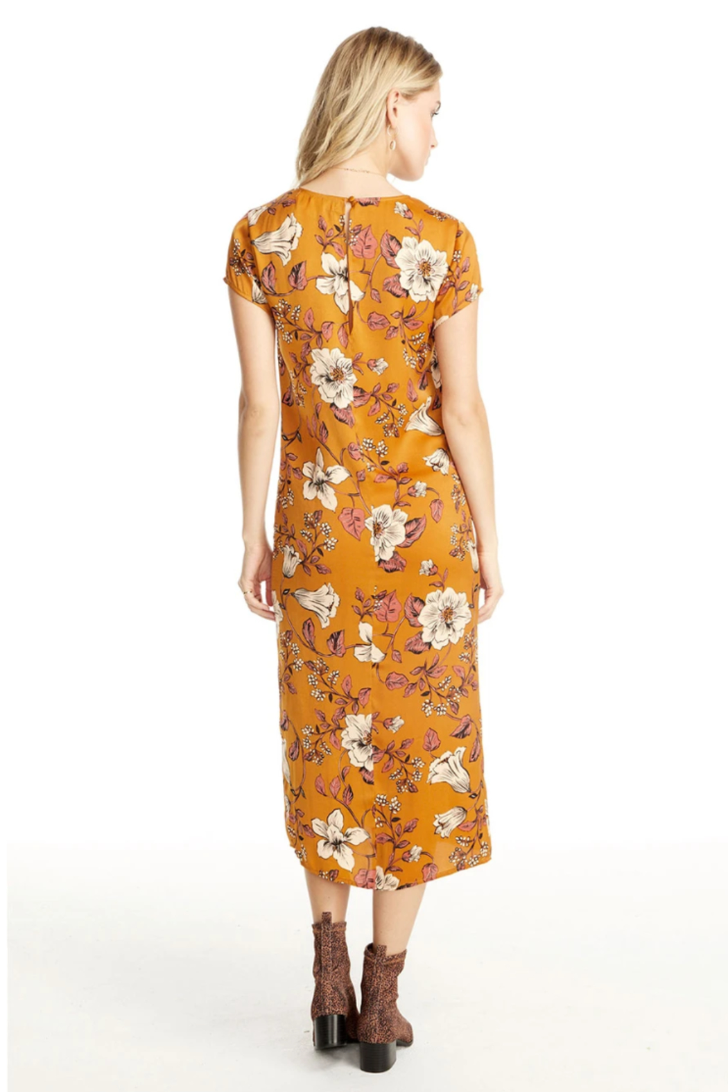 Saltwater Luxe AMBER CAP SLEEVE DRESS - Front Full Image