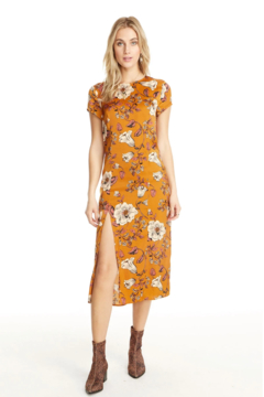 Saltwater Luxe AMBER CAP SLEEVE DRESS - Product List Image