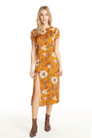 Saltwater Luxe AMBER CAP SLEEVE DRESS - Product Mini Image