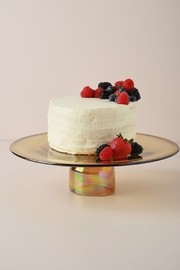 Anthropologie Amber Glass Cakestand - Product Mini Image