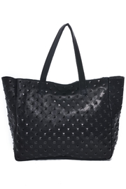 Carla Mancini Amber Studded Tote - Front cropped