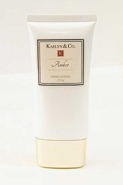 Kaelyn & Co Amber Hand Lotion - Alternate List Image