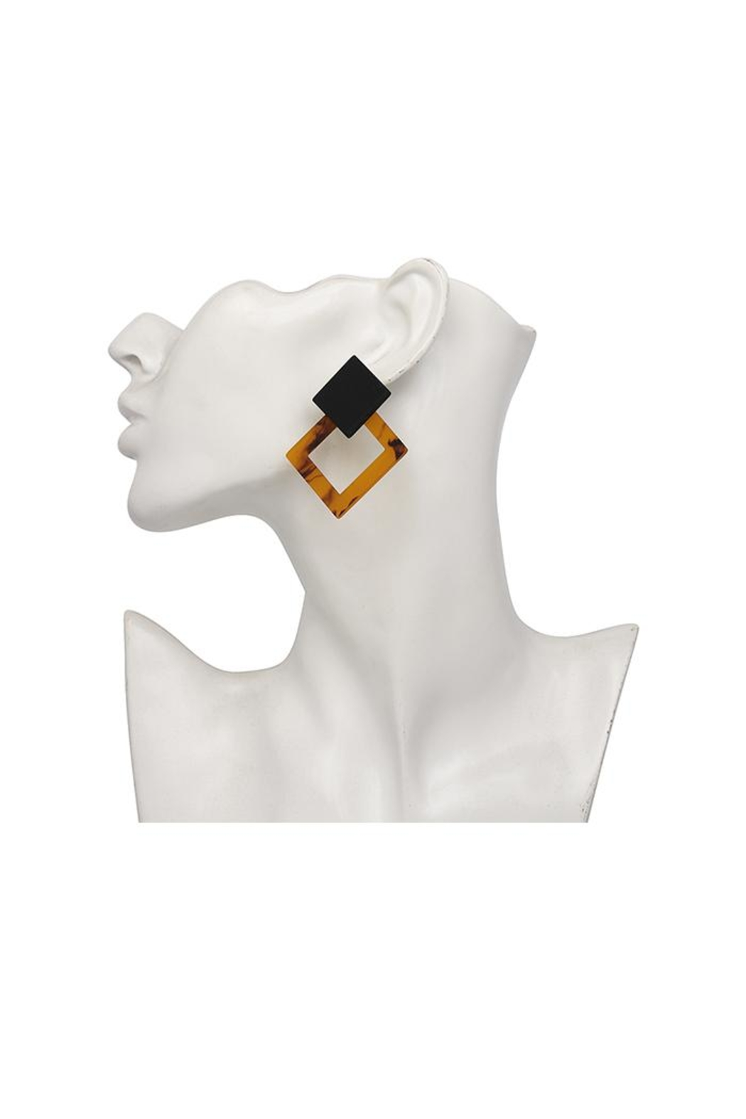 Madison Avenue Accessories Amber Honey Earring - Main Image