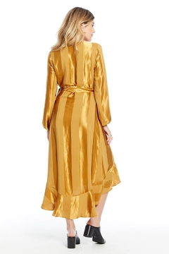 Saltwater Luxe AMBER WRAP DRESS - Alternate List Image