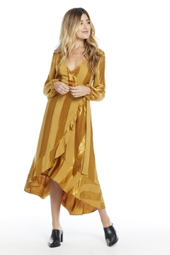 Saltwater Luxe AMBER WRAP DRESS - Product List Image