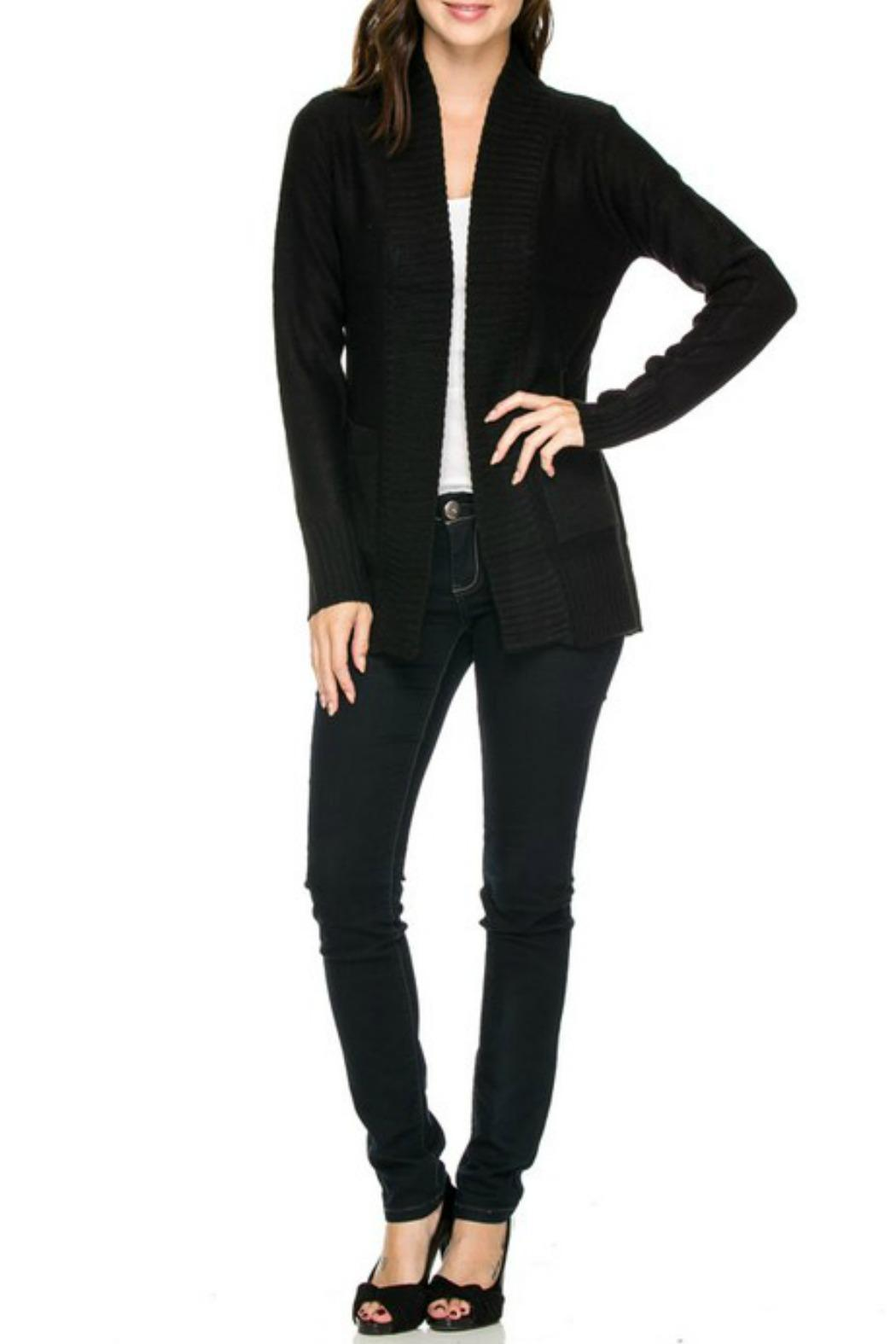 Ambiance Basic Black Cardigan from Connecticut by Deja Vu — Shoptiques