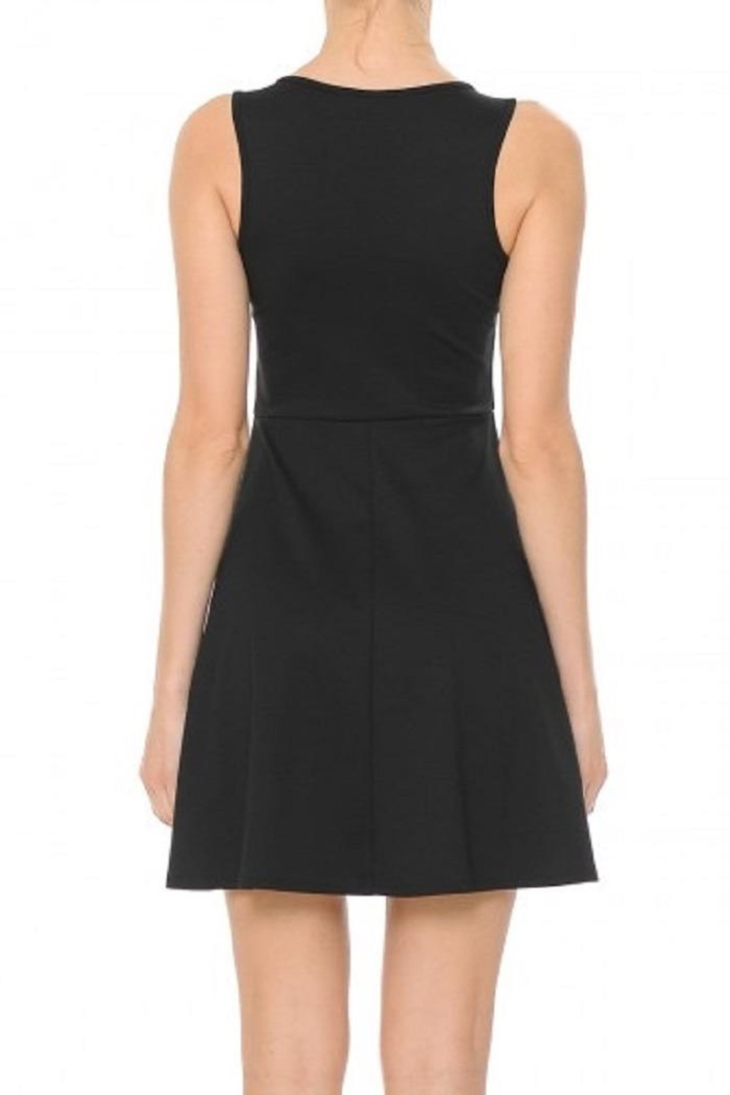 Ambiance Blair Skater Dress - Side Cropped Image