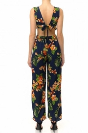 Ambiance Eden Tie-Back Jumpsuit - Front full body